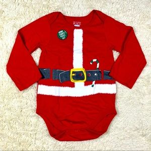 The Children's Place Santa Claus Baby Onesies
